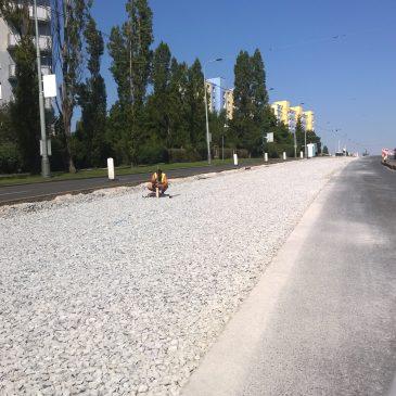 Rekonstrukce tramvajových tratí v Praze